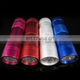 12 LED UV Flashlight Money Checker 395nm UV Torch Lamp