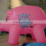 2016 Popular inflatable pig,inflatable pink pig ,giant inflatable pig for advertising