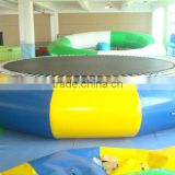 Outdoor inflatable pool toys water trampoline for kids and adults