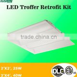 Standard dimension,2X4&2X2 retrofits led troffer kits