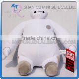 Mini Qute America Hot 23cm cartoon model sitting big hero 6 baymax stuffed plush dolls kids collect educational toys NO.BH015