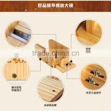 Hot Sale Nicole Adjustable Wooden Soap Mold Loaf Cutter Rack For DIY Handmade Loaf Soap                                                                         Quality Choice