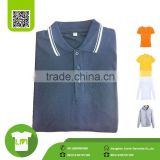 short sleeve polo custom t shirt design, Grey white collar t shirt wholesale china                                                                                                         Supplier's Choice