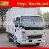 small sino 4*2 Small Cargo Trucks