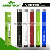 Top vaporizer brand airistech slim e cigarette vertex ego multi 280mah battery hottest vape pen from alibaba express