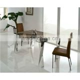 paper marble extendable square dining table