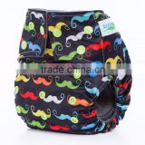 New Arrived Reusable One Size Baby Cloth Bulk Diapers from China