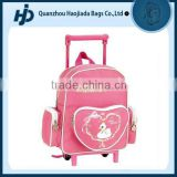 Dependable performance lovely kids school rolling backpack