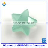 JL GEMS Synthetic Star Shape Crystal Glass Bead Stone Loose Gemstone With Factory Price