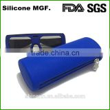 Shinerin bag manufacturer alibaba wholesale fashion kids glasses bag silicone ladies travel cosmetic case