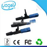 China Supply Filed Assembly Embeded FTTH Optial Fiber Splice dual optical sc apc SC PC Connector