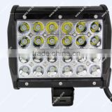 72W Cheap LED Light Bars Aluminum Housing LED Driving Light Bar 6.5 Inch LED Work Light Bar
