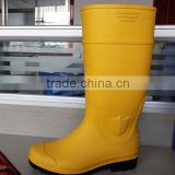China black safety pvc boots/water proof shoes