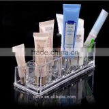 2015 best selling good quality factory hot sale clear Acrylic vertical and drawer Jewelry Box made in china
