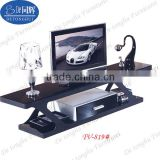 2014 modern design tempering glass TV stand TV-819#