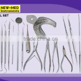 Dental Set Dental Instruments Set Dental Forceps Dental Extracting Forceps Dental Surgical Set Dental Set