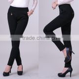 OEM service Wholesale high quality skinny pants/new fashion ladies tight trousers for office ladies
