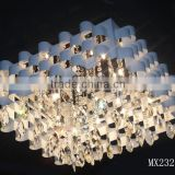 Square luxurious High quality Italian style crystal chandeliers MX2321M
