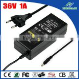 Baby Monitor Power Supply 36V 1A Universal AC/DC Adapter With CE KC