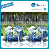 Drinking blown glas classic and popular glass stemware white wine goblet glass stemware