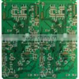 Blind hole chip on board electroconductive paste printed board