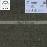 17*17 100% linen yarn dyed fabric