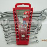 12pcs Double Deep Offset Ring spanner wrench set vehicle tools repair tools