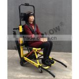 Folding power wheelchair,climbing stairs