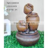 Resin indoor home pot clay water fountain decoration                                                                                                         Supplier's Choice
