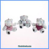 Wholesale Bear Pendant Designs For Women Fit To Make Necklace Or Keychain CPP-015
