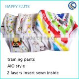 baby cloth diaper wholesale baby cotton training pants bamboo manufacture factory