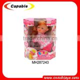 10 inch BO crying singing crawling baby doll
