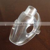 plastic transparent face mask to prevent dust/spit/toxic gas