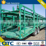 6-8 units SUVs loaing capacity 2 axles car carrier transport truck semi trailer for sale