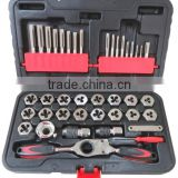(Metric) 40pcs Tap and Die Set -Ratchet handle