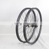 Dengfu newest hookless rims, wholesale bicycle parts, 29er carbon mtb wheels, 28h carbon disc mtb wheels