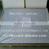 pleated/ cleanable /resue sintered no-woven fiber felt