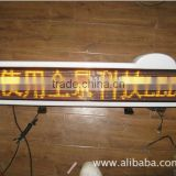 P10 led sign board/led signboard for taxi and bus