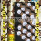 1.5'' 4 Breaks Boy Scout Troop Artillery Shells, 1.4G CONSUMER FIREWORKS SHELLS, CHEMICAL FORMULA FIREWORKS