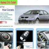 Manufacturer Passive Keyless Entry System and Remote Engine Start for Kia Cerato