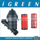 Irrigation filters