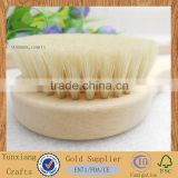 Natural LOOFAH or Bristle BODY Clean wooden or bamboo handle Bath/Shower Brushes