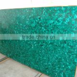China Competitive Price Natural Green Art Malachite Slab