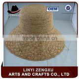 lifeguard men natural grass straw boater hat