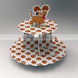 2014 Counter cake display,Multievel cake stand,Rotating cake display