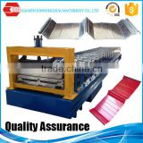 Joint hidden tile forming machine, Angle Chi roofing make machine