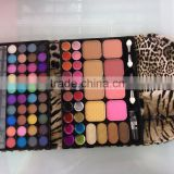 Evening wallet design eyeshadow palette 60 colors glitter and matte mixed eye shadow mineral fomula