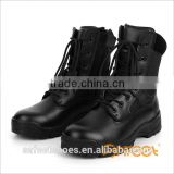 Army Military Boots Black Genuine Leather Men Protective boots Factory High Quality SA-8316