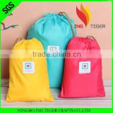 2016 Hot Sales Promotion Recycled OEM Manufacturer For Sport Nylon Drawstring Dry Bag Backpack