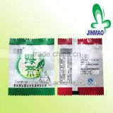 Laminated material organic green tea bag/jasmine green tea bags/chinese green tea bag